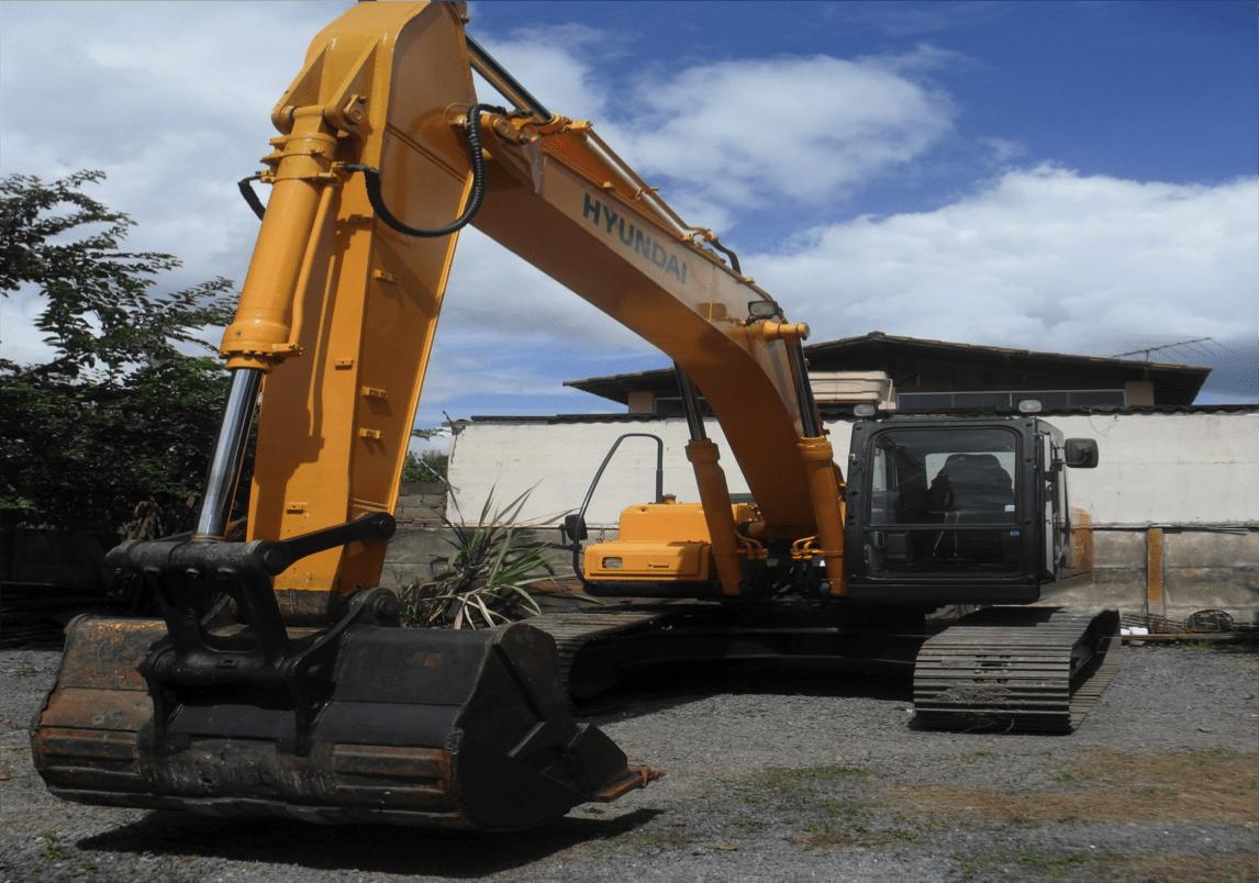 Escavadeira Hyundai LC250