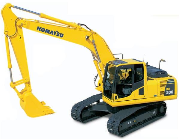 Escavadeira Hidráulica Komatsu modelo PC-200-8