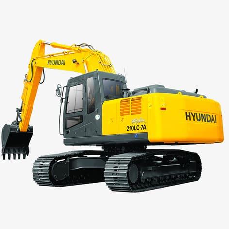 Escavadeira Hyundai  R210LC