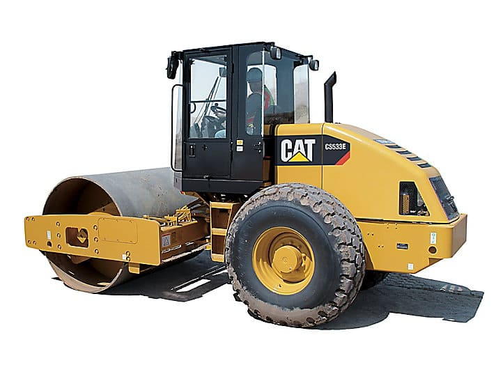 Rolo Compactador CAT 533E.