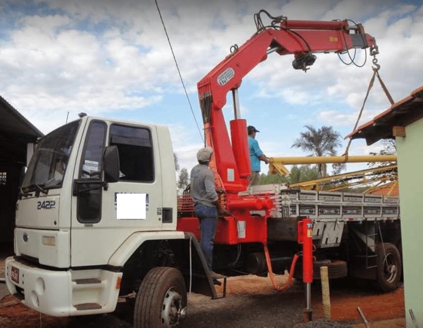 Caminhão Ford/Cargo 2422 T Munck/Guindauto