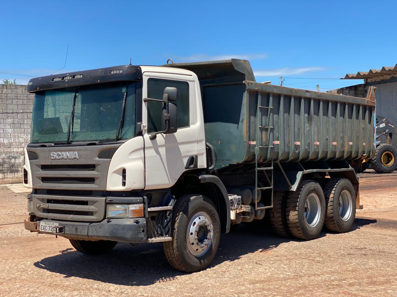 Caminhão Caçamba Scania  P310